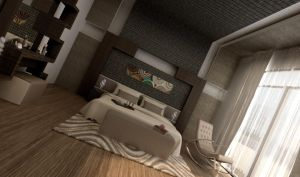 Master Bedroom 2 by 3ESAWY