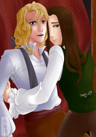Lestat and louis by melyuzu