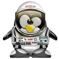 Tux in space by ghassan747