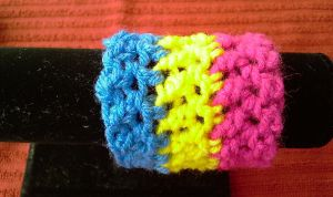Pansexual Pride Wristband by RebelATS