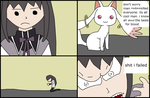Homura Gets Trolled Redux by avatarlastassbender