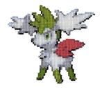 492 - Sky Shaymin by Devi-Tiger
