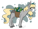 More OC's : Lily the stupidly cute horse by ProfessorAurabolt