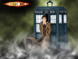 The Tenth Doctor by Alienweirdo