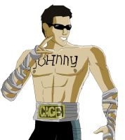 Mortal Kombat 9 Johnny Cage by MarkiPewdieMash