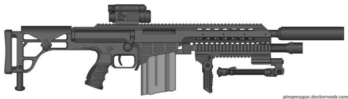 special forces assault rifle by noeshift