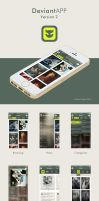DeviantAPP for iPhone Redesign by SRudy