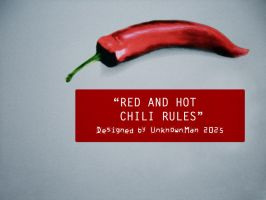 Chili Rules by Psychiatry
