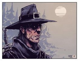 Solomon Kane by TheWoodenKing