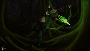 Windrunner Dota 2 by Procsan