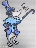 Soul Eater Excalibur Sprite by Ginabobina101