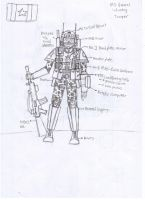 IRS General Infantry Trooper -Redesign- by Target21