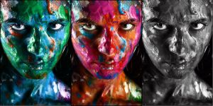 3 Faces of Color by mobiusco-photo