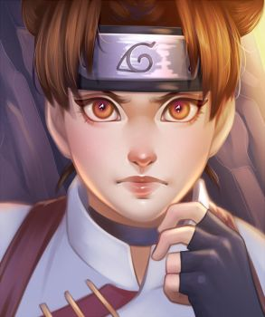 Tenten by Nychse