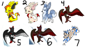 Left Over Adopts - 1 by AliceTheHunted