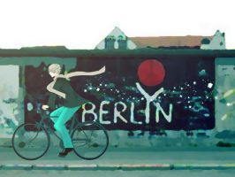 The East Side of Berlin Wall by Akiraka-chan