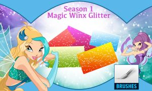 Season 1 - Magic Winx Glitter (Brush) by Cyberwinx