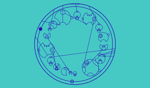 The TARDIS (Sentance in Gallifreyan) by Sherlock16