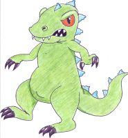 Reptar by glaciethewolf