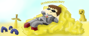 Skydoesminecraft!! by Gameaddict1234