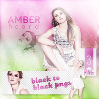 PNG Pack (134) Amber Heard by IremAkbas