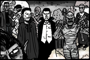 Universal Monsters films by theEyZmaster
