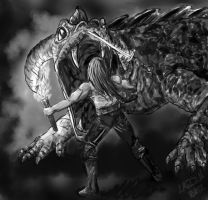 The Warrior by hydraa