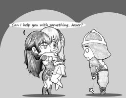 Yes, Joxer? by Fishinggurl