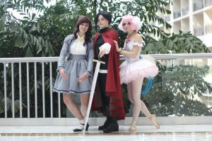 Princess Tutu Cosplay Group by HatterSisters