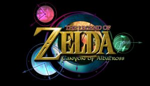 Custom Zelda Logo: Canyon of Albatross by AzureParagon