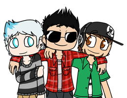 rest of my skate team by DerpCraft