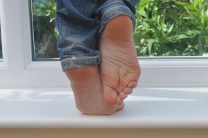 Soles on the Sill by Foxy-Feet