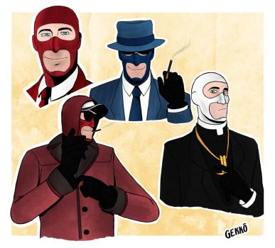 Spy drawings by strahldelune
