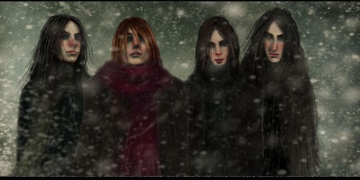 The Magnificent Four by Patilda