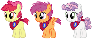 Appleboom, Skaterloo, Squeaky  Bell by EvilFrenzy