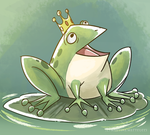 .: Prince Frog :. by PirateHearts