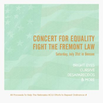 Equality Concert Ad by fulcrum-lever