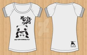 Panda Dreams T-Shirt by who-scared-you