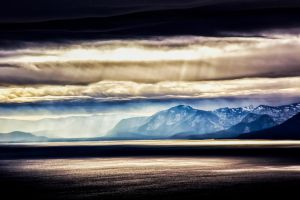 Tahoe Winter Scene by sellsworth