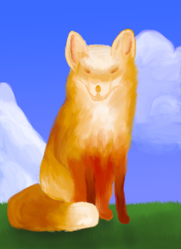 Fox by tomTheBombadil