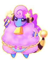 Magical Shiny Mareep by Pastelletta