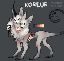 Design Auction - Koreur (CLOSED) by PaperFractures