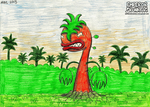 Orange, the mutated plant creature! (2013) by anthromutants