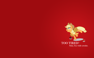 Too Tired Wallpaper by VampyricArts