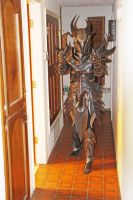 Skyrim Daedric armor, indoor lighting2 by lsomething