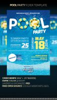 POOL PARTY Flyer Template by anekdamian