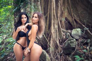 Shana Evers and Rosanna Arkle by AngelRiley