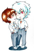 OTP KaworuShinji by Sennel