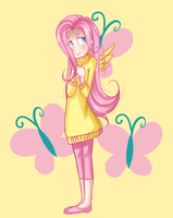 Fluttershy by Rey-Of-Sunlight
