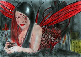 PAULA  is the lil' Demoness... by POWER-BEAUTIES